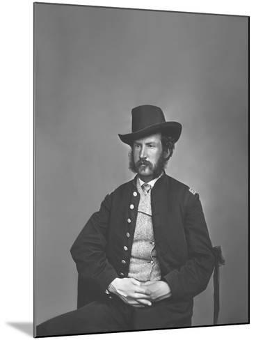 Captain Edward P. Doherty Portrait, Circa 1861-1865-Stocktrek Images-Mounted Photographic Print