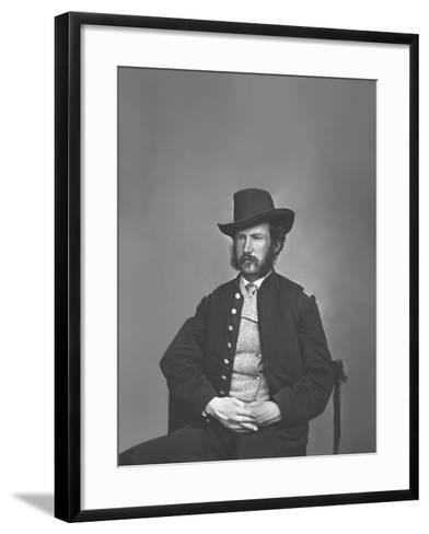 Captain Edward P. Doherty Portrait, Circa 1861-1865-Stocktrek Images-Framed Art Print