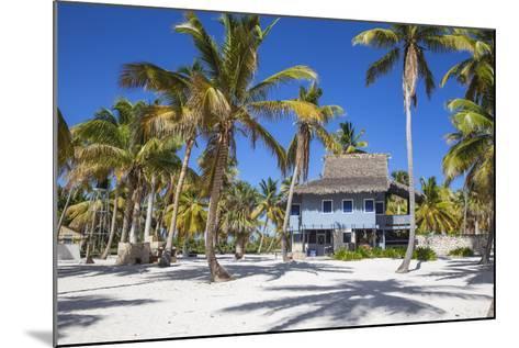 Dominican Republic, Punta Cana, Parque Nacional Del Este, Saona Island, Canto De La Playa-Jane Sweeney-Mounted Photographic Print