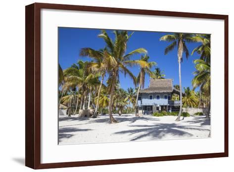 Dominican Republic, Punta Cana, Parque Nacional Del Este, Saona Island, Canto De La Playa-Jane Sweeney-Framed Art Print