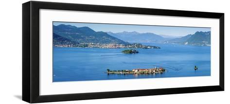 Idyllic Isola Dei Pescatori (Fishermen's Islands), Borromean Islands, Lake Maggiore-Doug Pearson-Framed Art Print