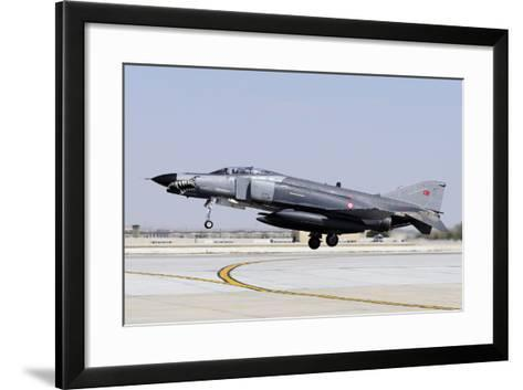 A Turkish Air Force F-4E-2020 Terminator-Stocktrek Images-Framed Art Print