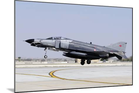 A Turkish Air Force F-4E-2020 Terminator-Stocktrek Images-Mounted Photographic Print