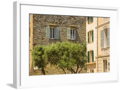 Old Town, St. Tropez, Var, Provence-Alpes-Cote D'Azur, French Riviera, France-Jon Arnold-Framed Art Print