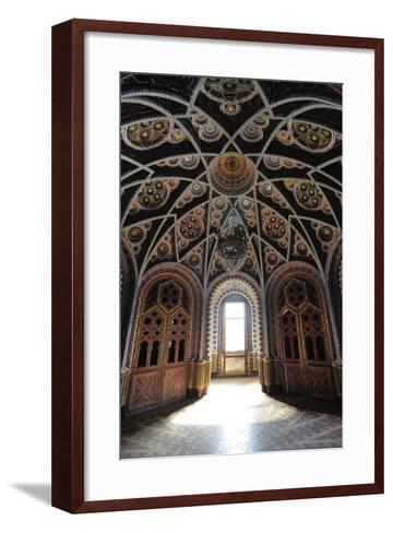 Palace of Sammezzano, Florence-ClickAlps-Framed Art Print