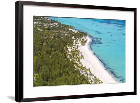 Dominican Republic, Punta Cana, Cap Cana, View of Juanillo Beach-Jane Sweeney-Framed Art Print