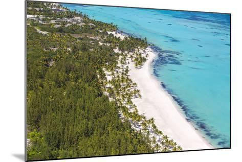 Dominican Republic, Punta Cana, Cap Cana, View of Juanillo Beach-Jane Sweeney-Mounted Photographic Print