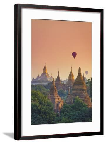 Myanmar (Burma), Temples of Bagan (Unesco World Heritage Site), Ananda Temple-Michele Falzone-Framed Art Print