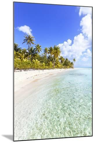 Sable Rose (Pink Sand) Beach in the Lagoon of Tikehau, French Polynesia-Matteo Colombo-Mounted Photographic Print