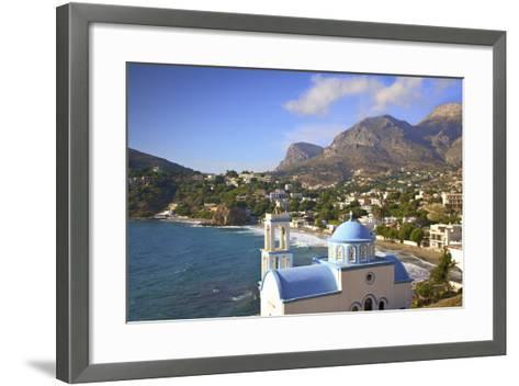 Church at Kantouni, Kalymnos, Dodecanese, Greek Islands, Greece, Europe-Neil Farrin-Framed Art Print