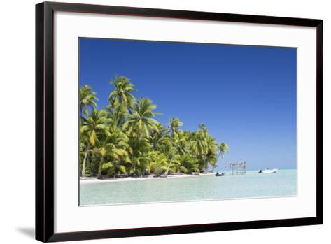 Motu Pit Aau, Bora Bora, Society Islands, French Polynesia-Ian Trower-Framed Art Print