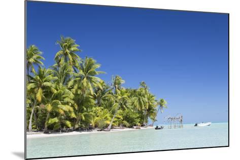 Motu Pit Aau, Bora Bora, Society Islands, French Polynesia-Ian Trower-Mounted Photographic Print