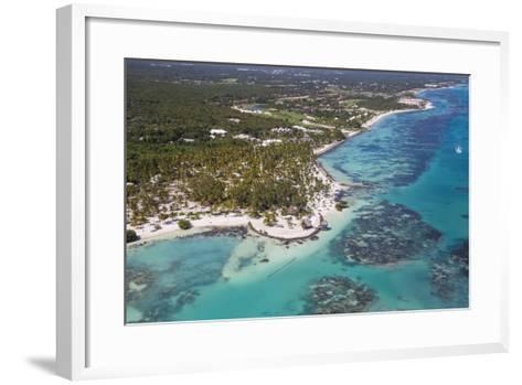 Dominican Republic, Punta Cana, View of Cap Cana, Juanillo-Jane Sweeney-Framed Art Print