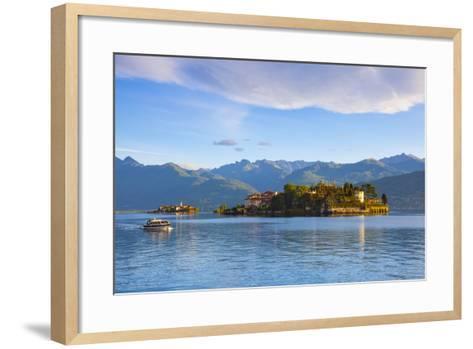 The Idyllic Isola Dei Pescatori and Isola Bella, Borromean Islands, Lake Maggiore, Piedmont, Italy-Doug Pearson-Framed Art Print