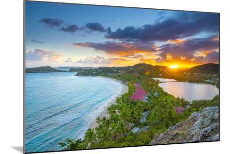 Caribbean, Antigua, Galley Bay, Galley Bay Beach, Sunrise-Alan Copson-Mounted Photographic Print