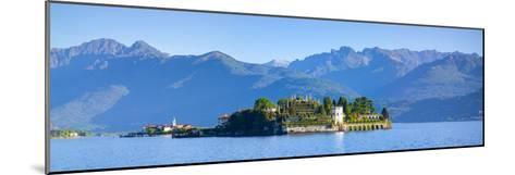 The Idyllic Isola Dei Pescatori and Isola Bella, Borromean Islands, Lake Maggiore, Piedmont, Italy-Doug Pearson-Mounted Photographic Print