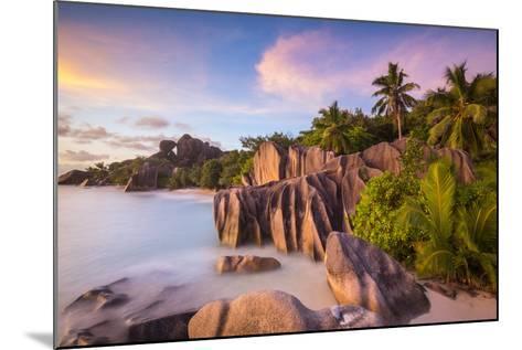 Anse Source D'Argent Beach, La Digue, Seychelles-Jon Arnold-Mounted Photographic Print