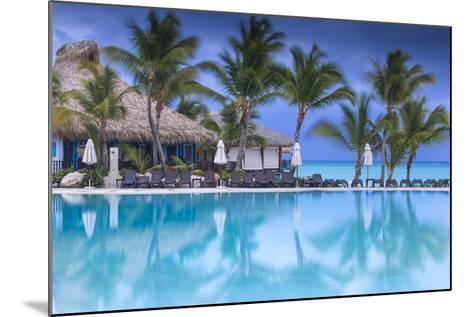 Dominican Republic, Punta Cana, Cap Cana, Swimmkng Pool at the Sanctuary Cap Cana Resort and Spa-Jane Sweeney-Mounted Photographic Print