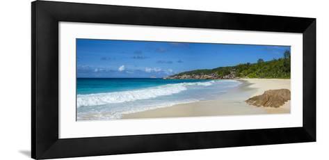 Petite Anse Beach, La Digue, Seychelles-Jon Arnold-Framed Art Print