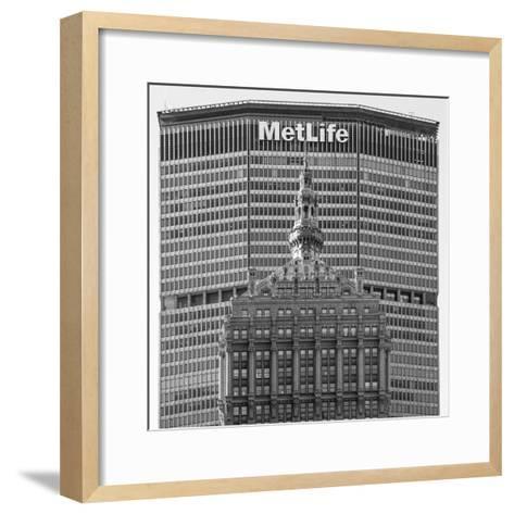 Helmsley and Metlife Buildings, Park Avenue, Manhattan, New York City, New York, USA-Jon Arnold-Framed Art Print