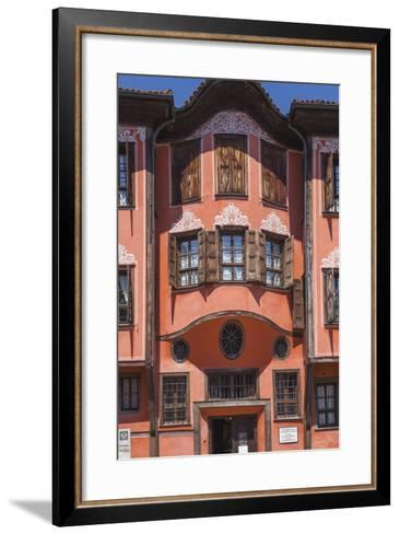 Bulgaria, Southern Mountains, Plovdiv, Old Plovdiv, Ethnographical Museum, Exterior-Walter Bibikow-Framed Art Print