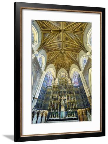 Europe, United Kingdom, England, Lancashire, Lancaster, Lancaster Cathedral-Mark Sykes-Framed Art Print