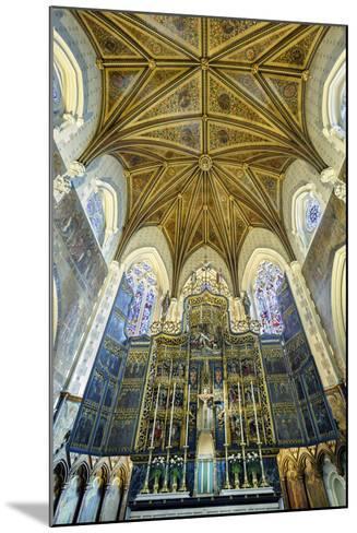 Europe, United Kingdom, England, Lancashire, Lancaster, Lancaster Cathedral-Mark Sykes-Mounted Photographic Print