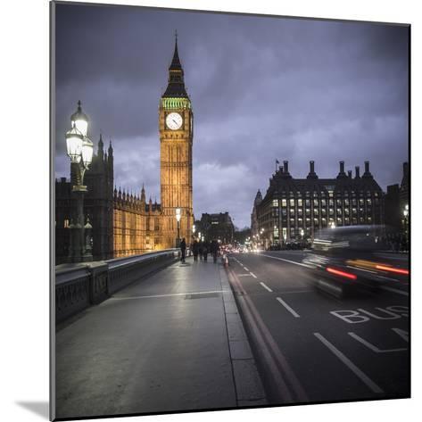Big Ben, Houses of Parliament and Westminster Bridge, London, England-Jon Arnold-Mounted Photographic Print