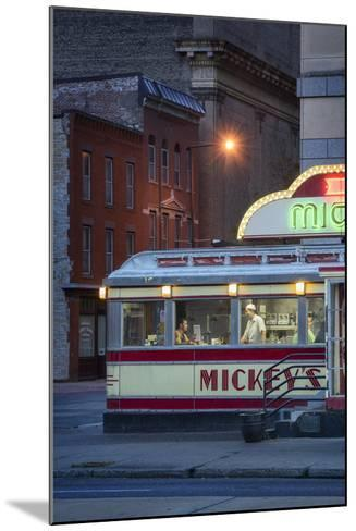 Usa,Midwest, Minnesota, St.Paul, Mickey's Diner-Christian Heeb-Mounted Photographic Print