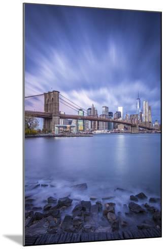 Brooklyn Bridge and Lower Manhattan/Downtown, New York City, New York, USA-Jon Arnold-Mounted Photographic Print