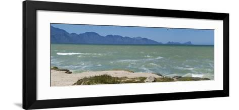 False Bay Looking at Gordon's Bay, South Africa, Africa-Neil Thomas-Framed Art Print