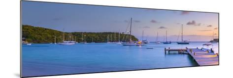 Caribbean, Antigua, Freeman's Bay, Galleon Beach at Dusk-Alan Copson-Mounted Photographic Print