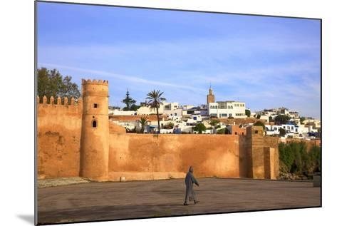 City Walls, Oudaia Kasbah, Rabat, Morocco, North Africa-Neil Farrin-Mounted Photographic Print
