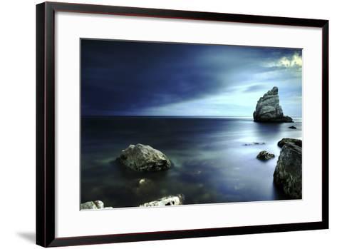 Sail Rock, Conero National Park, Marche, Italy-ClickAlps-Framed Art Print