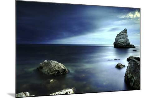 Sail Rock, Conero National Park, Marche, Italy-ClickAlps-Mounted Photographic Print