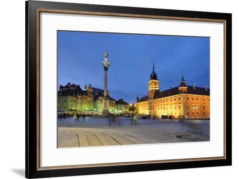 The Royal Castle (Zamek Krolewski) in Warsaw, a UNESCO World Heritage Site. Poland-Mauricio Abreu-Framed Art Print