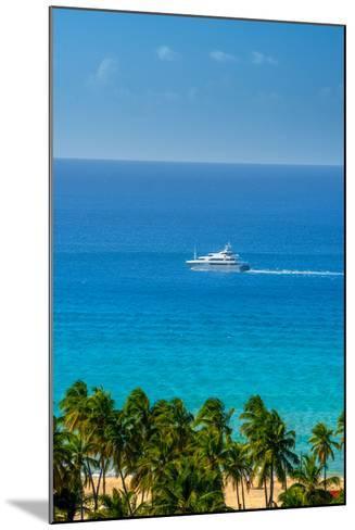 Caribbean, British Virgin Islands, Tortola, Lambert Bay, Lambert Bay Beach-Alan Copson-Mounted Photographic Print
