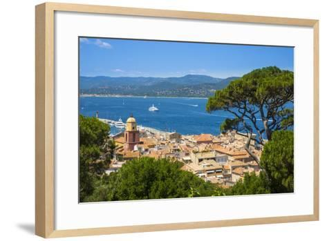 St. Tropez, Var, Provence-Alpes-Cote D'Azur, French Riviera, France-Jon Arnold-Framed Art Print