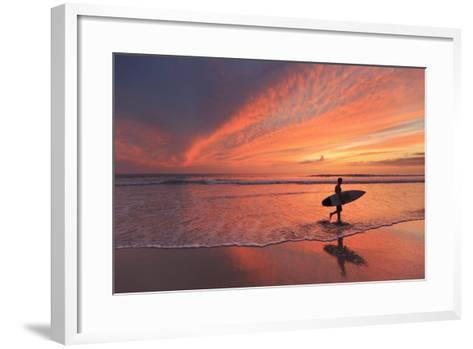 Costa Rica, Guanacaste, Nicoya Peninsula, Santa Teresa, Playa Santa Teresa-Michele Falzone-Framed Art Print