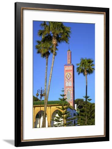 Mosque of Sidi Bou Abib, Grand Socco, Tangier, Morocco, North Africa-Neil Farrin-Framed Art Print