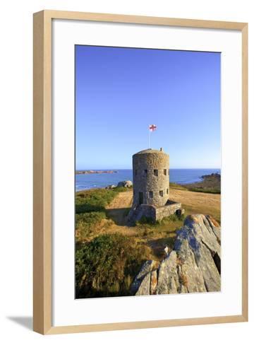 Martello Tower No 5, L'Ancresse Bay, Guernsey, Channel Islands-Neil Farrin-Framed Art Print