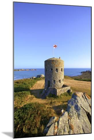 Martello Tower No 5, L'Ancresse Bay, Guernsey, Channel Islands-Neil Farrin-Mounted Photographic Print