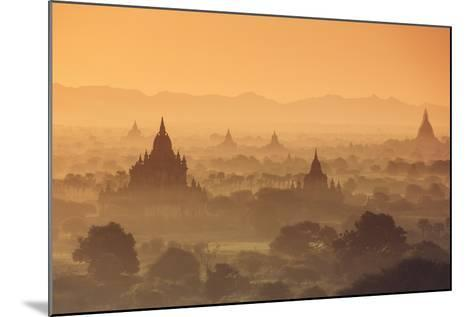 Myanmar (Burma), Temples of Bagan (Unesco World Heritage Site)-Michele Falzone-Mounted Photographic Print