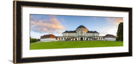 Castle Solitude Near Stuttgart Illuminated at Sunset, Stuttgart, Germany-Doug Pearson-Framed Art Print