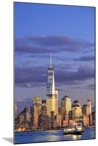 Usa, New York, New York City, Lower Manhattan Skyline-Michele Falzone-Mounted Photographic Print