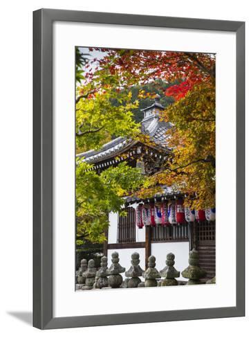 Japan, Kyoto, Arashiyama, Adashino Nenbutsu-Ji Temple-Jane Sweeney-Framed Art Print