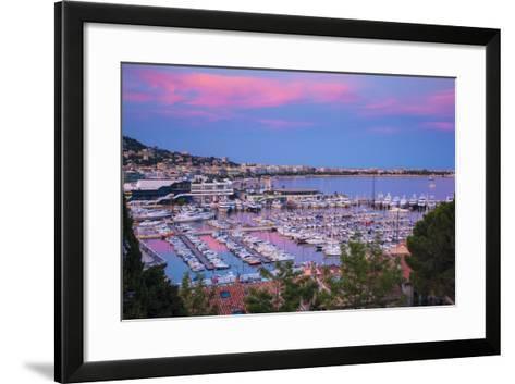 Le Vieux Port, Cannes, Alpes-Maritimes, Provence-Alpes-Cote D'Azur, French Riviera, France-Jon Arnold-Framed Art Print