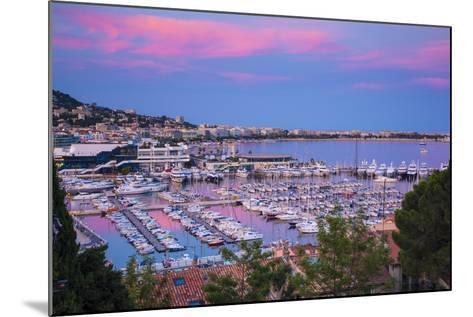 Le Vieux Port, Cannes, Alpes-Maritimes, Provence-Alpes-Cote D'Azur, French Riviera, France-Jon Arnold-Mounted Photographic Print