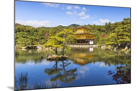 Japan, Kyoto, Kinkaku-Ji, -The Golden Pavilion Officially Named Rokuon-Ji-Jane Sweeney-Mounted Photographic Print