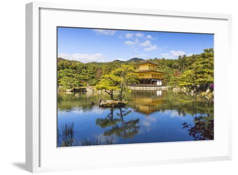 Japan, Kyoto, Kinkaku-Ji, -The Golden Pavilion Officially Named Rokuon-Ji-Jane Sweeney-Framed Art Print
